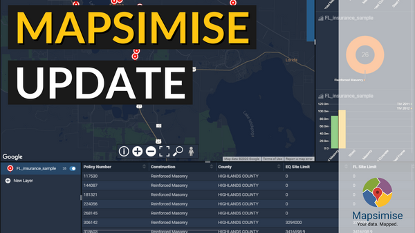 Mapsimise May 2020 Update... It's Here!
